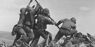 Soldiers Lifting Flag We U0027ve All Seen These Iconic Photos Here U0027s The Remarkable Footage