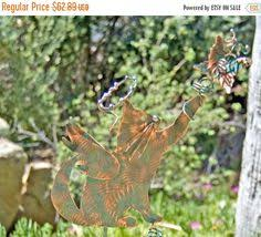 Sheet Metal Garden Art - chihuahua angel dog garden plant stake metal garden art pet