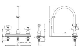 gooseneck kitchen faucets kitchen faucet dimensions awesome gooseneck kitchen faucets