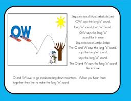 all worksheets oa ow phonics worksheets free printable