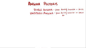 angina pectoris cardiovascular disorders merck manuals