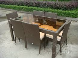 Rattan Patio Table And Chairs Compare Prices On Aluminium Garden Tables Online Shopping Buy Low