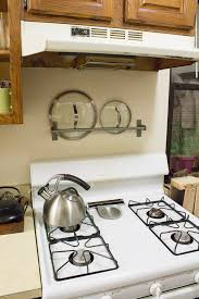 Storage Solutions For Small Kitchens by 15 Small Kitchen Storage U0026 Organization Ideas Stove Pot Lids