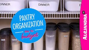 pantry organization on a budget part 1 of 4 dollar store