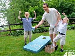 How To Make Backyard Jenga by Diy Yard Yahtzee