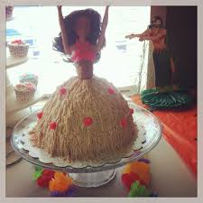 sweet and savory adventures pregnant hula cake using