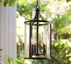 Outdoor Pendant Light Fixture Belden Indoor Outdoor Pendant Pottery Barn