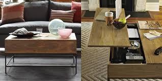 Rustic Storage Coffee Table Rustic Coffee Table West Elm Jebiga Design Lifestyle