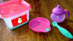 how to make baby alive food youtube