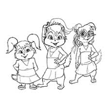 25 free printable alvin chipmunks coloring pages