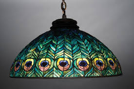 Louis Comfort Tiffany Lamp Tiffany Studios Peony Table Lamp Set To Rise To At Least 250 000