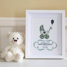baby engraved gifts personalised new baby gift print by lovely jubbly