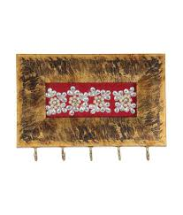 aaina home décor wood key holder red buy aaina home décor wood