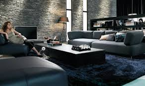 Black Modern Living Room Furniture by Living Room Astounding Of Contemporary Livingroom Furniture