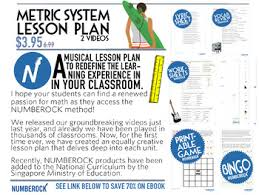 conversions metric system worksheets activities lesson plan