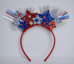 4th of july headband couture kaboom 4th of july headband