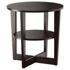 Side Table Designs For Living Room Vejmon Side Table Black Brown Ikea