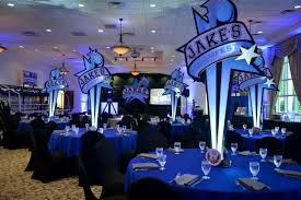 Basketball Centerpieces Fantasy Sports Draft Bar Mitzvah Party Mazelmoments Com