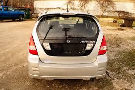 2003 suzuki aerio sx silver used sport sedan sale