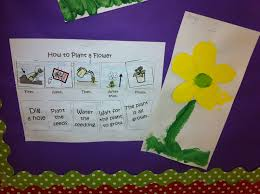 Multi Flow Map How To Plant A Flower Flow Map The Autism Adventures Of Room 83