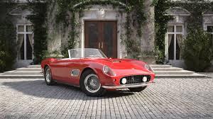 ferrari california 1961 ferrari 250 gt california spyder 1961 alexander car render