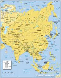 Outline Map Of Asia by Asia Asian Continent Outline Map Brilliant Map Of The Asian