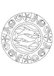 485 best coloriages mandala images on pinterest mandalas
