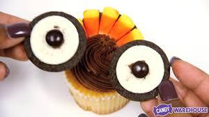 oreo thanksgiving turkeys thanksgiving turkey cupcakes made simple youtube