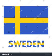 Sweden Flag Image Sweden Flag Over White Stock Vector 588980195 Shutterstock