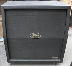 guitar speaker cabinets peavey windsor 412 slant 4x12 guitar speaker cabinet reverb