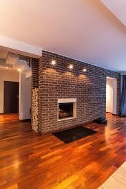 enchanting modern brick fireplace 66 mid century modern white
