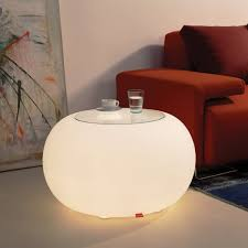 bubble indoor led side table by moree