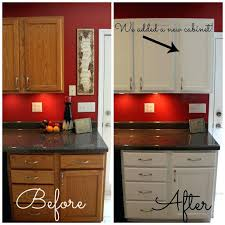change color wood kitchen cabinets changing my the of white red