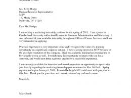writing an internship cover letter best training internship