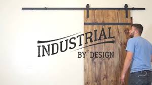 Install Sliding Barn Door by Step By Step Barn Door Hardware Installation Industrial By