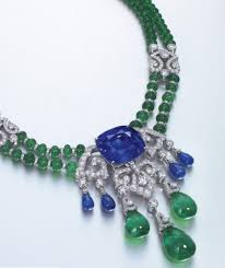 sapphire emerald necklace images Cartier 46ct unheated ceylon sapphire necklace on the block jpg