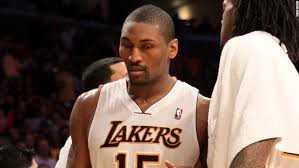 Metta World Peace Meme - world peace given 7 game suspension for elbow to the head cnn