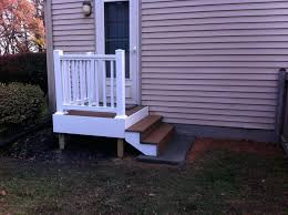 cute front door stair railing railings brick staircase leading up