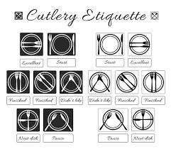 table manners cutlery etiquette table etiquette set of eating utensils etiquette