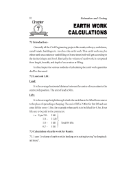 Excavation Estimating by Estimating And Costing Book