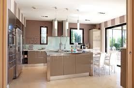 marron cuisine cuisine deco cuisine marron beige deco cuisine deco cuisine