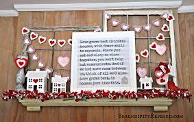 serendipity refined blog diy repurposed valentine u0027s day mantel decor
