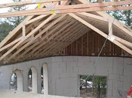 scissor trusses are in blog post at ownerbuilderbook com build