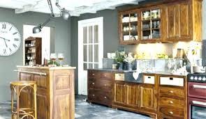 peindre une cuisine rustique meuble de cuisine rustique armoire du cuisine rustique comment