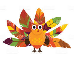 art for thanksgiving cute vector turkey with colorful feathers for thanksgiving and