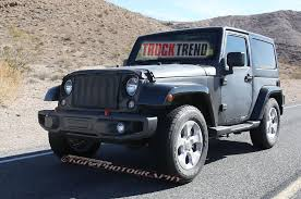 jeep truck 2018 lifted 2018 jeep wrangler mule spied again