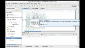 design html page in eclipse creating a web application with eclipse ide youtube