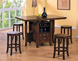 counter height kitchen island table 5pc counter height kitchen island table stools set