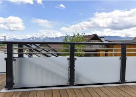 glas f r balkon balkon edelstahl glas beautiful home design ideen