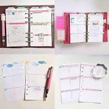 Diy Planner Template How To Print 5 5